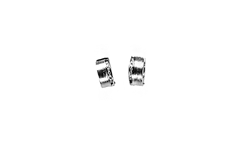47315-earrings, whitegold 750 with brilliants