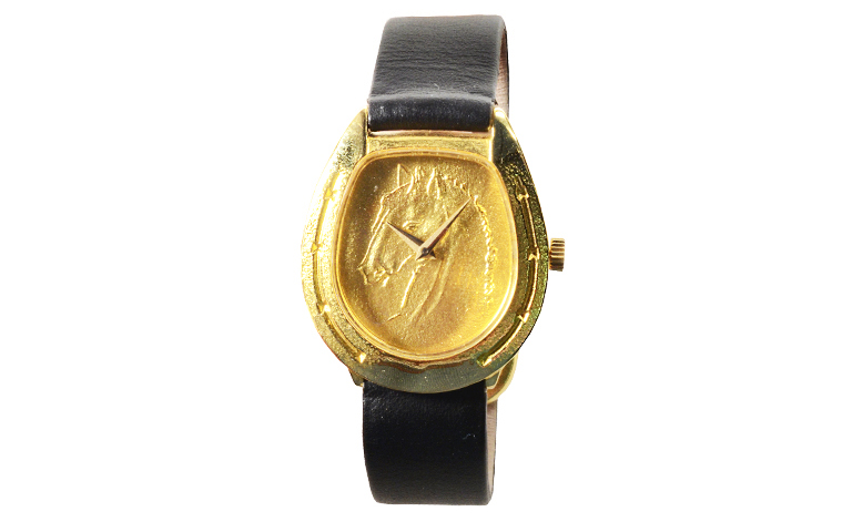 06049-watch, gold 750