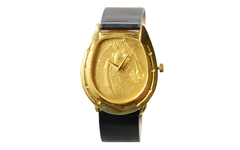 06050-watch, gold 750
