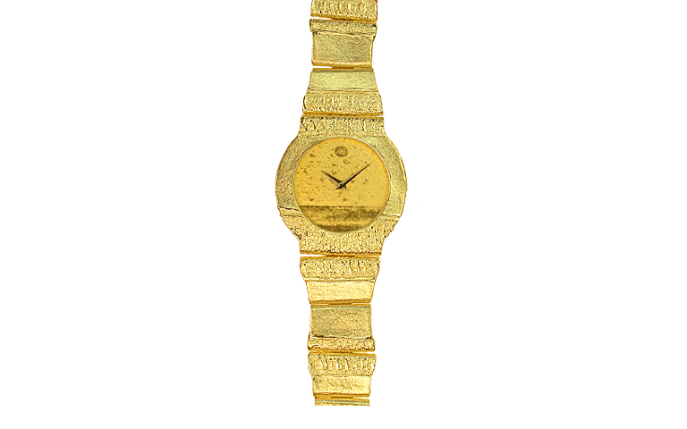 06146-watch, gold 750