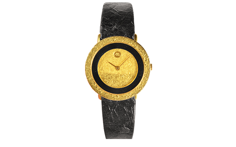 06189-watch, gold 750