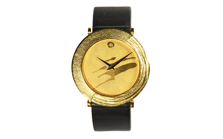 06232-watch, gold 750