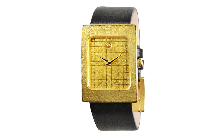 06277-watch, gold 750