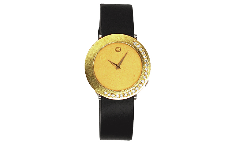 06289-watch, gold 750 with brillants