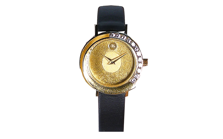 06295-watch, gold 750 with brilliants