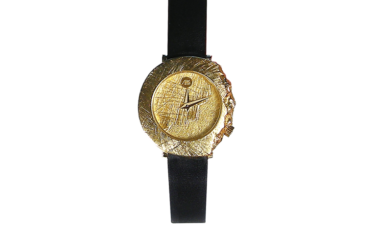 06312-watch, gold 750