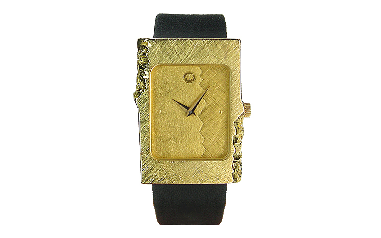 06314-watch, gold 750