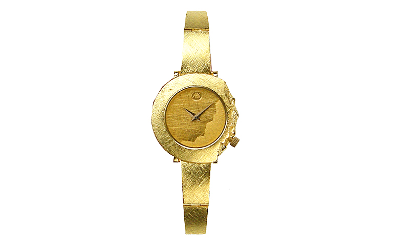 06317-watch, gold 750