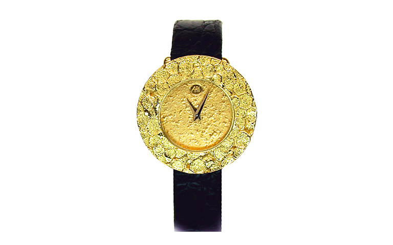 06319-watch, gold 750