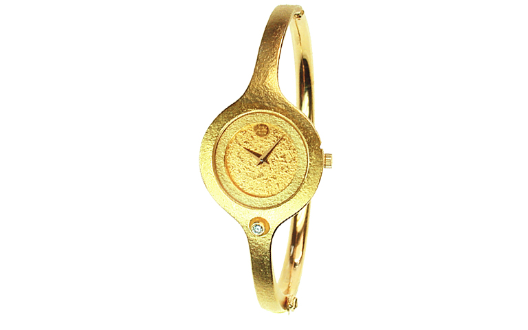 06333-watch, gold 750 with brillant