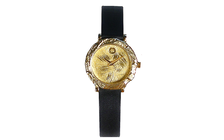 06354-watch, gold 750
