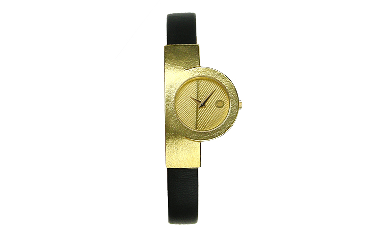 06361-watch, gold 750