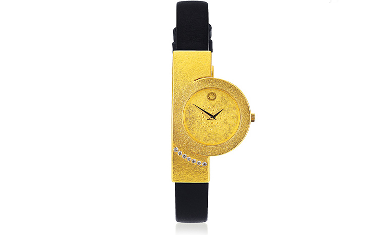 06365-watch, gold 750