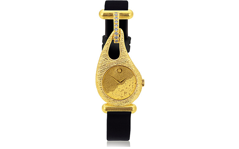 06367-watch, gold 750