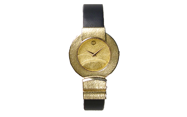 06370-watch, gold 750