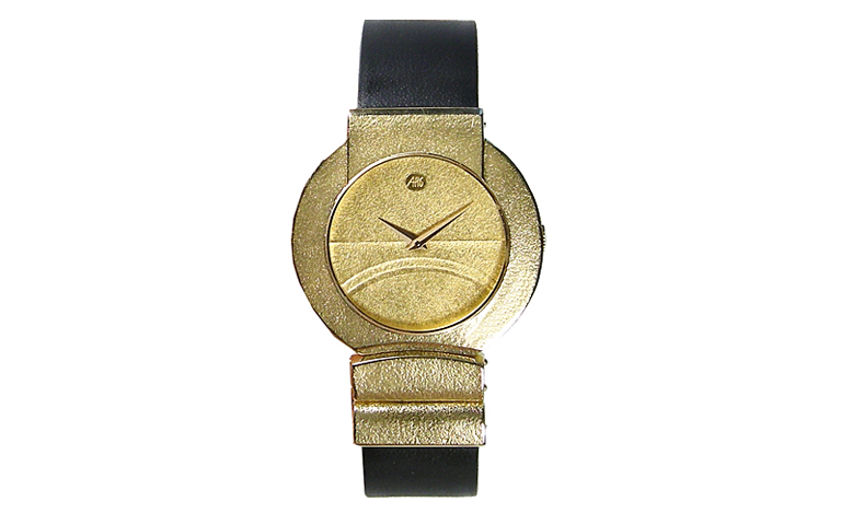 06371-watch, gold 750