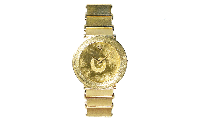 06373-watch, gold 750