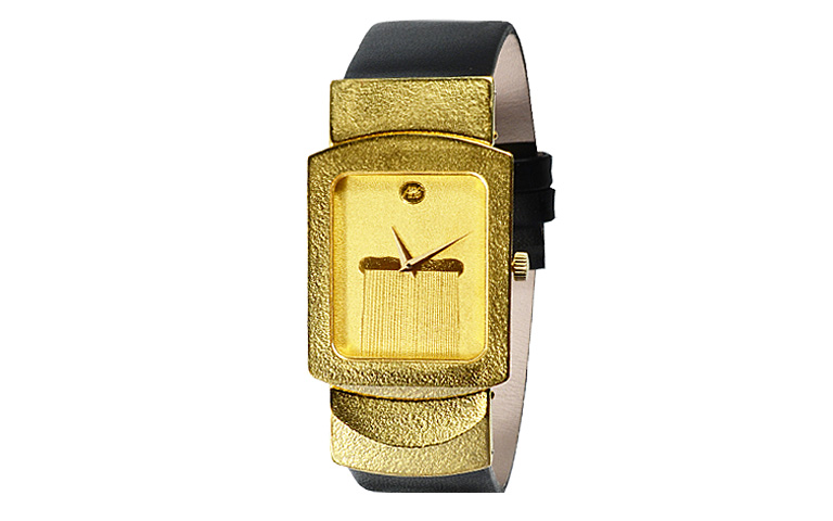 06377-watch, gold 750