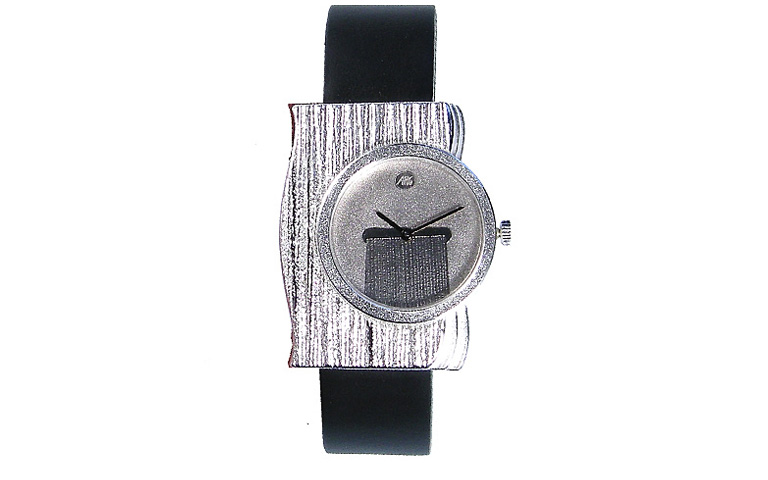 36013-watch, silver 925, with palladium-silver dial