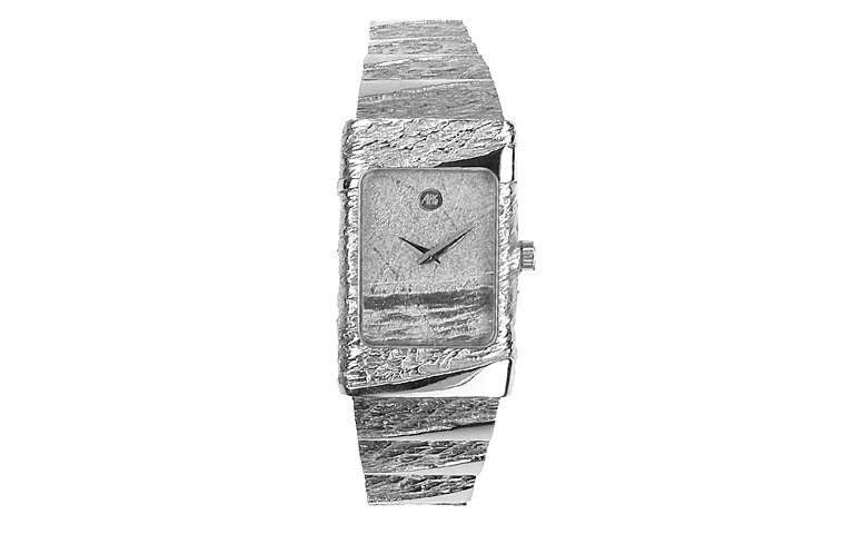 46196-watch, white gold 750