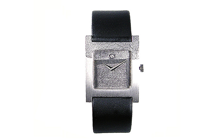 46279-watch, white gold 750