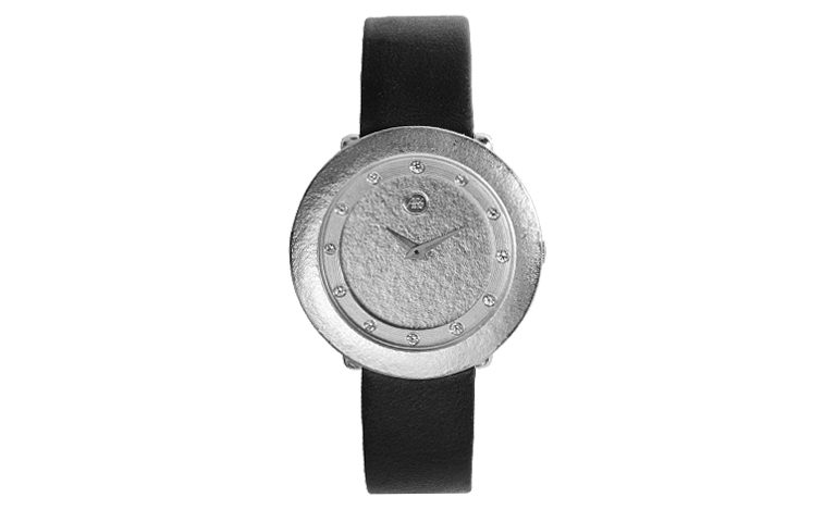 46507-watch, white gold 750