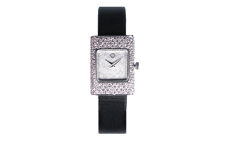 46508-watch, white gold 750 with brilliants