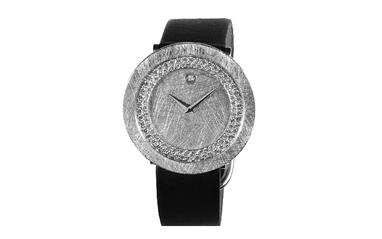 46526-watch, white gold 750 with brillants