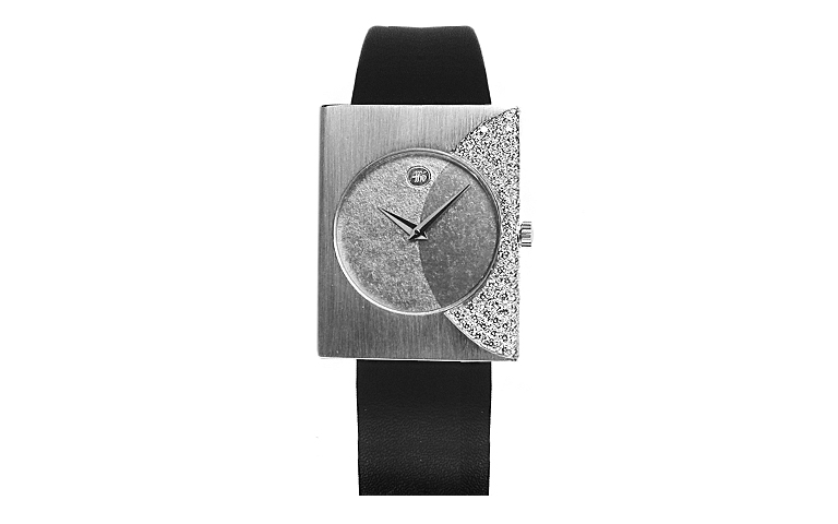 46528-watch, whitegold 750, brillants