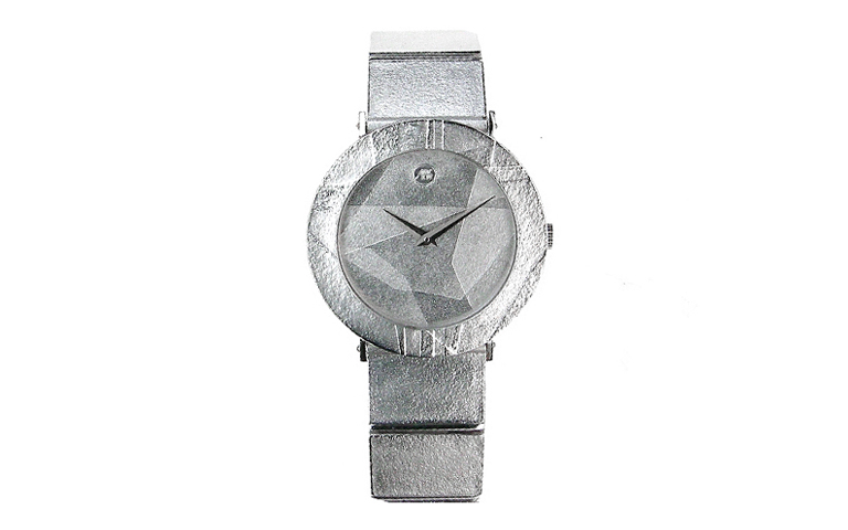 46565-watch, white gold 750