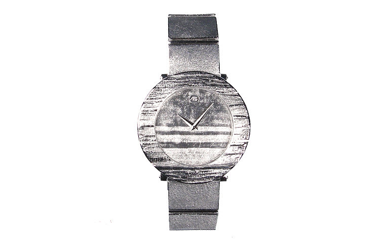 46567-watch, white gold 750