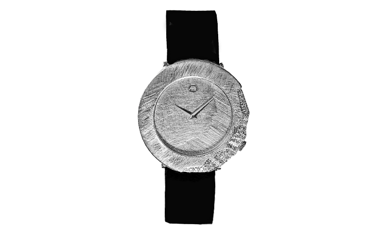 46569-watch, white gold 750 with brillants
