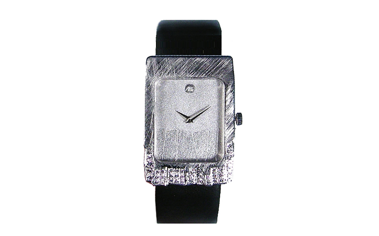 46571-watch, white gold 750 with brilliants