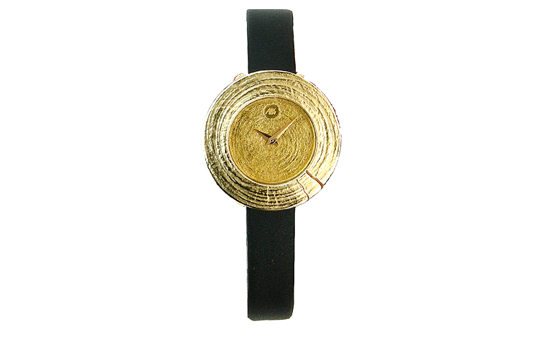66178-watch, gold 750