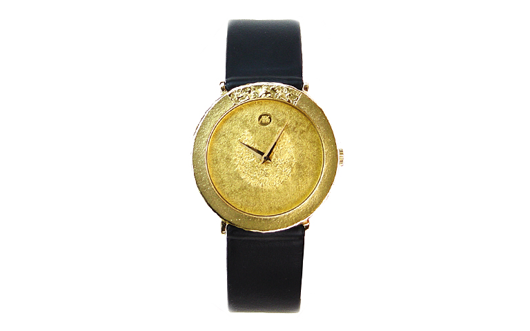 66186-watch, gold 750
