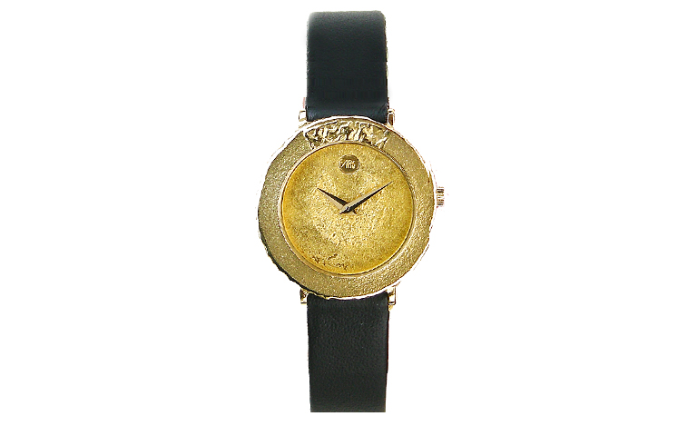 66187-watch, gold 750