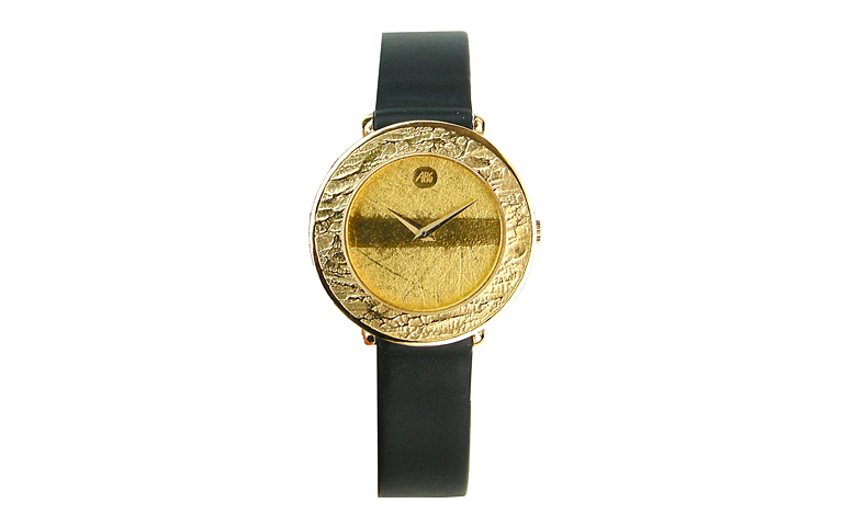 66562-watch, gold 750