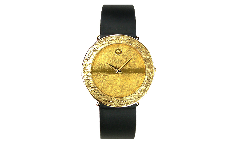 66563-watch, gold 750