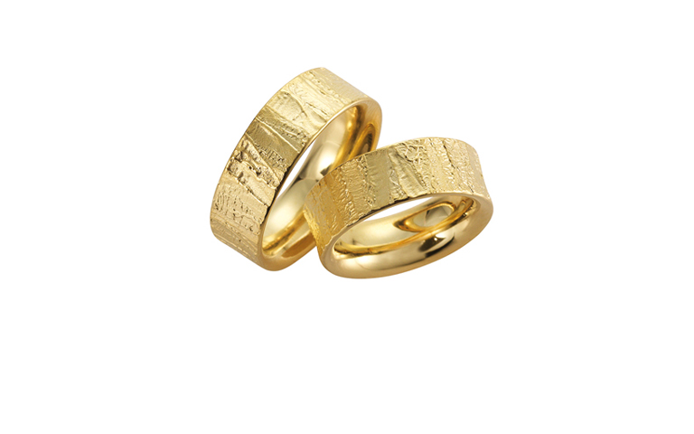 05035+05034-wedding rings, gold 750
