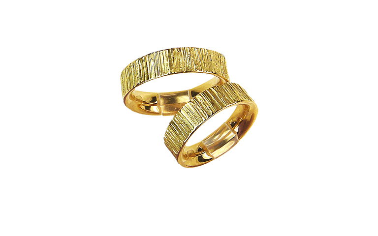 05036+05037-wedding rings, gold 750