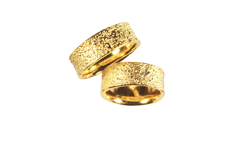 05038+05039-wedding rings, gold 750