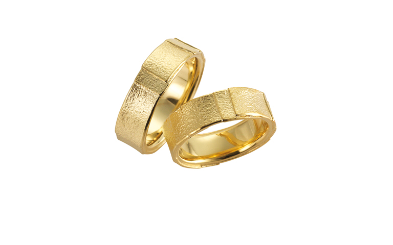 05064+05065-wedding rings, gold 750