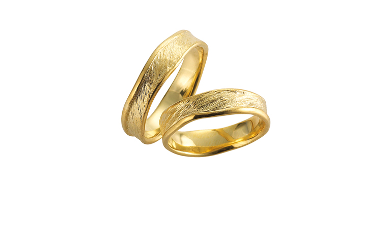 05068+05069-wedding rings, gold 750