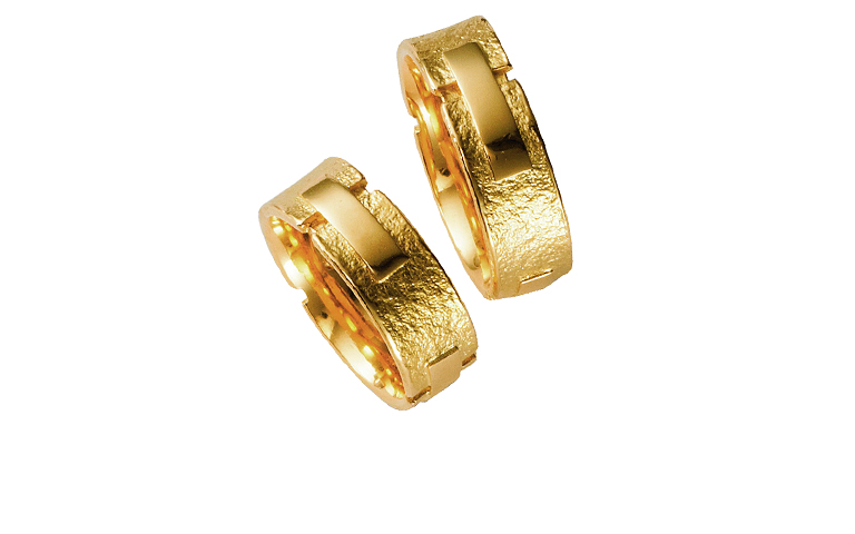 05075+05076-wedding ring, gold 750