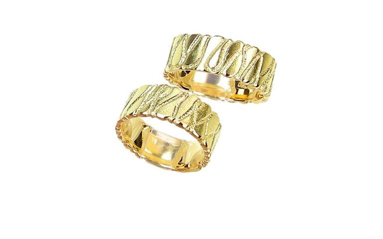 05101+05102-wedding rings, gold 750