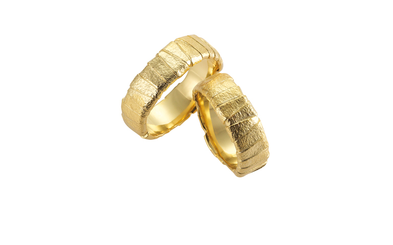 05103+05104-wedding rings, gold 750