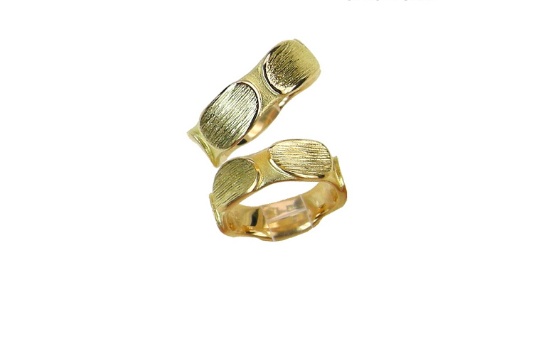 05116+05117-wedding rings, gold 750