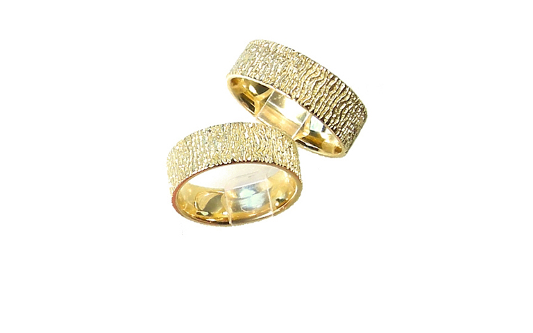 05130+05131-wedding rings, gold 750