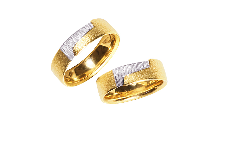 05301+05302-wedding rings, gold 750